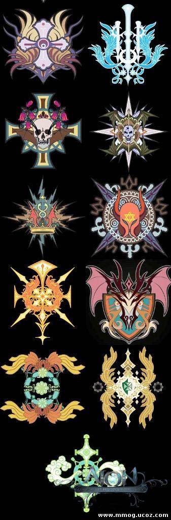Логотипы гильдий в Aion
